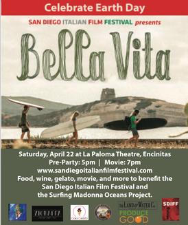 Earth Day Event - San Diego Italian Film Fest
