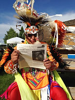 Jay Old Coyote, endangered grizzly bears, powwow Cody wyoming