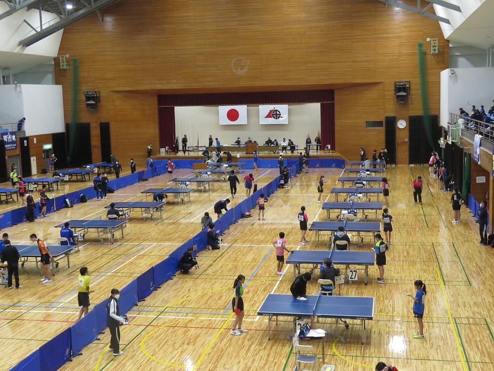 やすおか宏武 鹿児島県総合卓球選手権大会