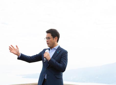 9/ 28(土)「やすおか宏武 桜島地区 囲む会」を開催します。