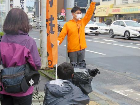 地元テレビ局MBCさんの取材