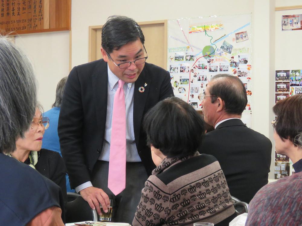 平山てつ市議後援会 三和・南地区忘年会