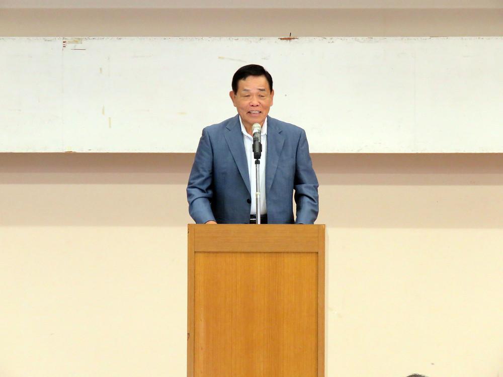 鹿児島県議 おさだ 康秀 さん 在鹿奄美後援会