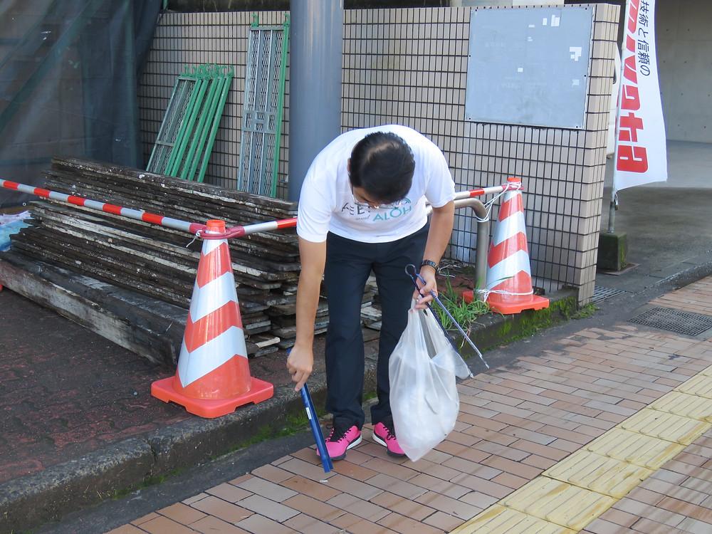 やすおか宏武 鹿児島1区奪還のタスキ