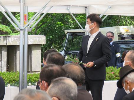 東郷平八郎記念日式典