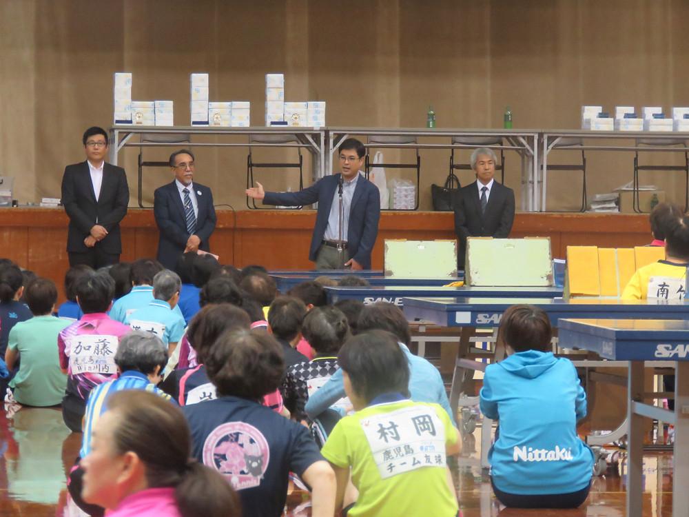 2019南日本レディース卓球大会