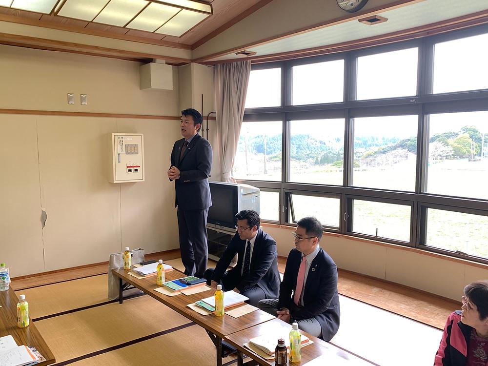 やすおか宏武鹿児島県卓球連盟 理事会
