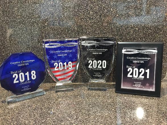 Creative Countertops Awards
