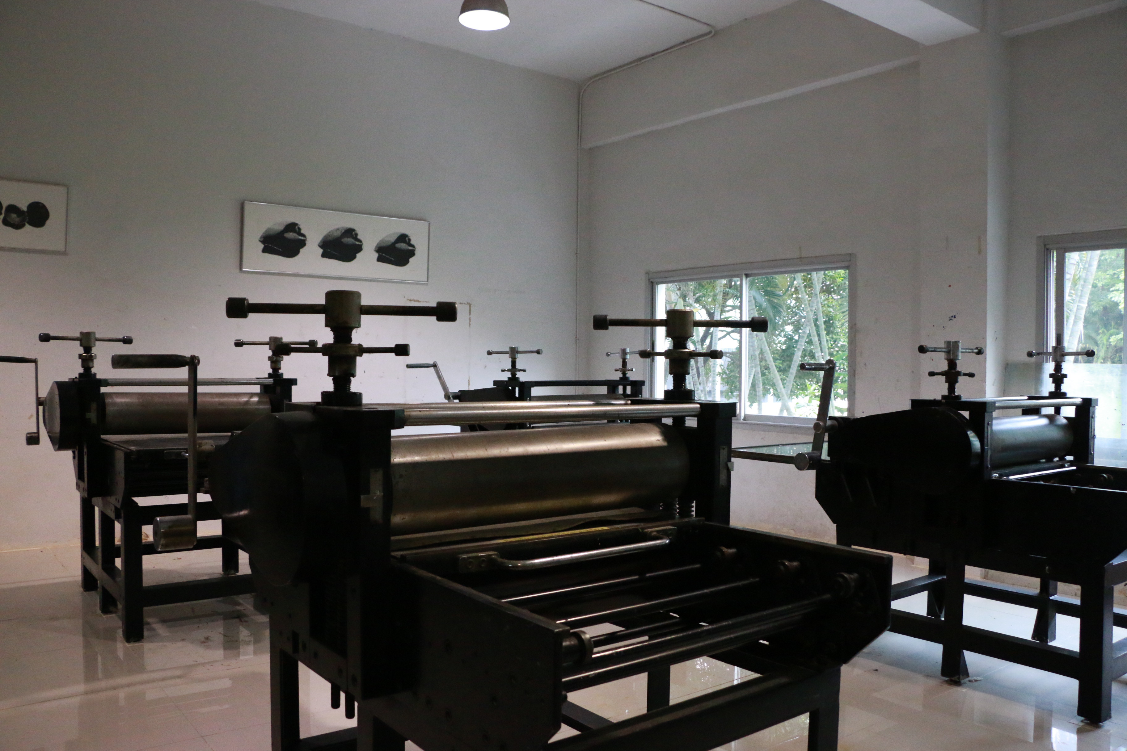 Hand Print - Printing Press Studio