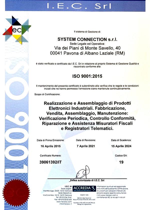 Certificazione ISO9011 AGG..jpg