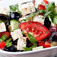Greek Salad (Salata Greceasca)