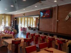 Spacious restaurant Veranda for any events
