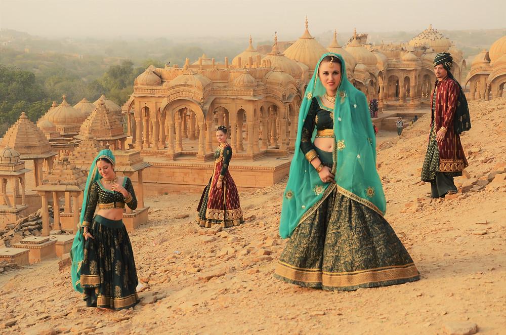Bollylicious tournee in India: Jaisalmer woestijn
