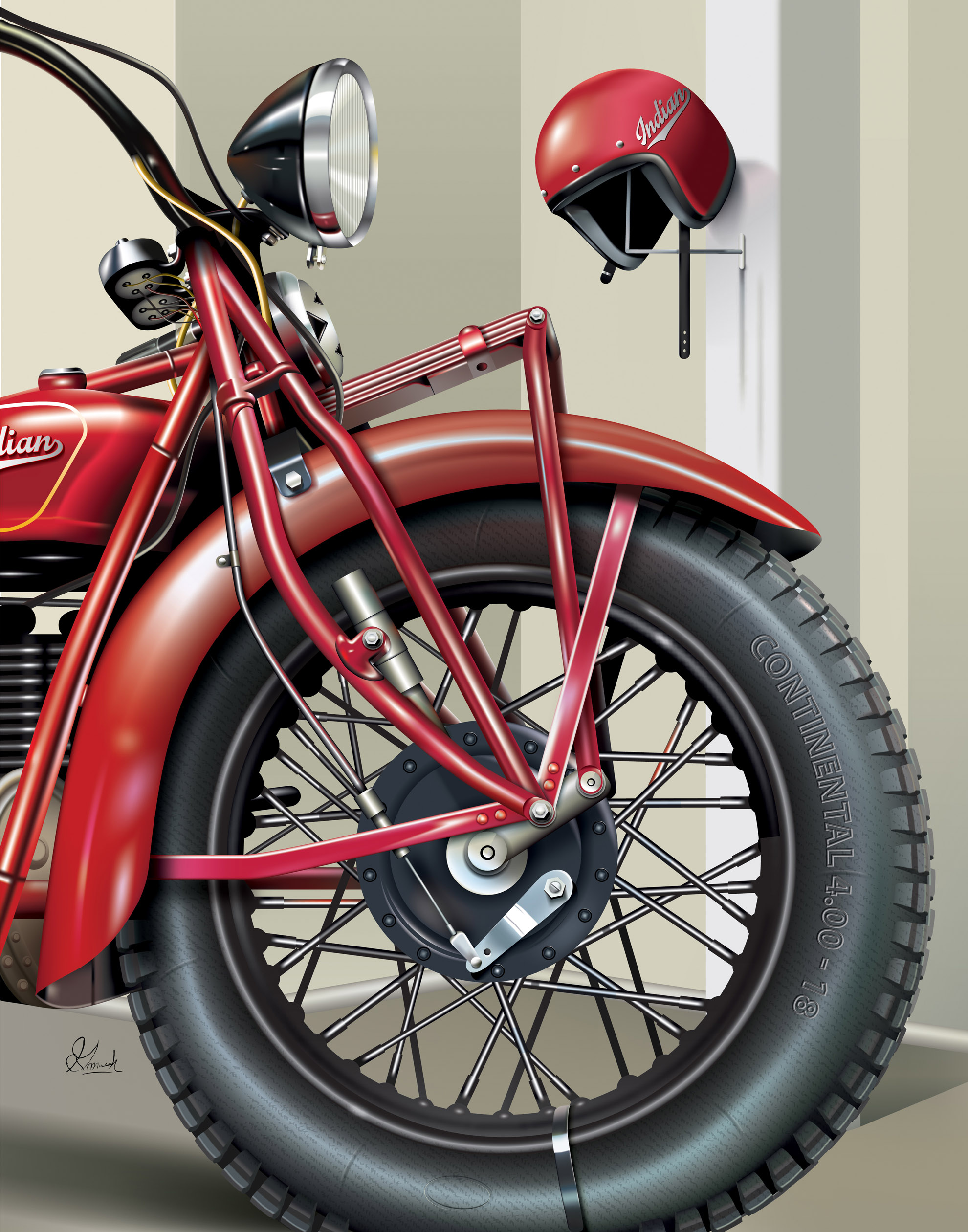 Indian Motorcycle Details