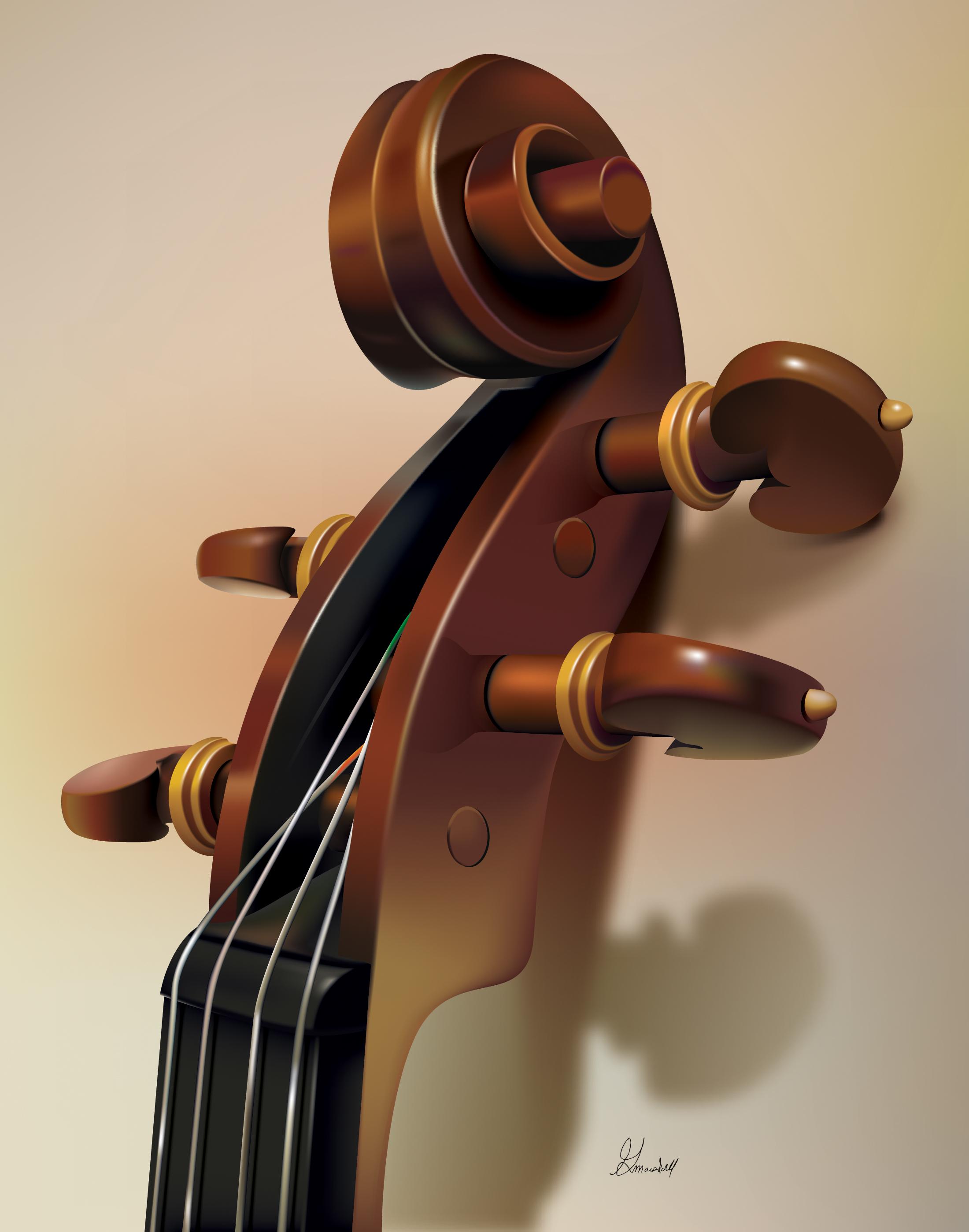 Violin Detail