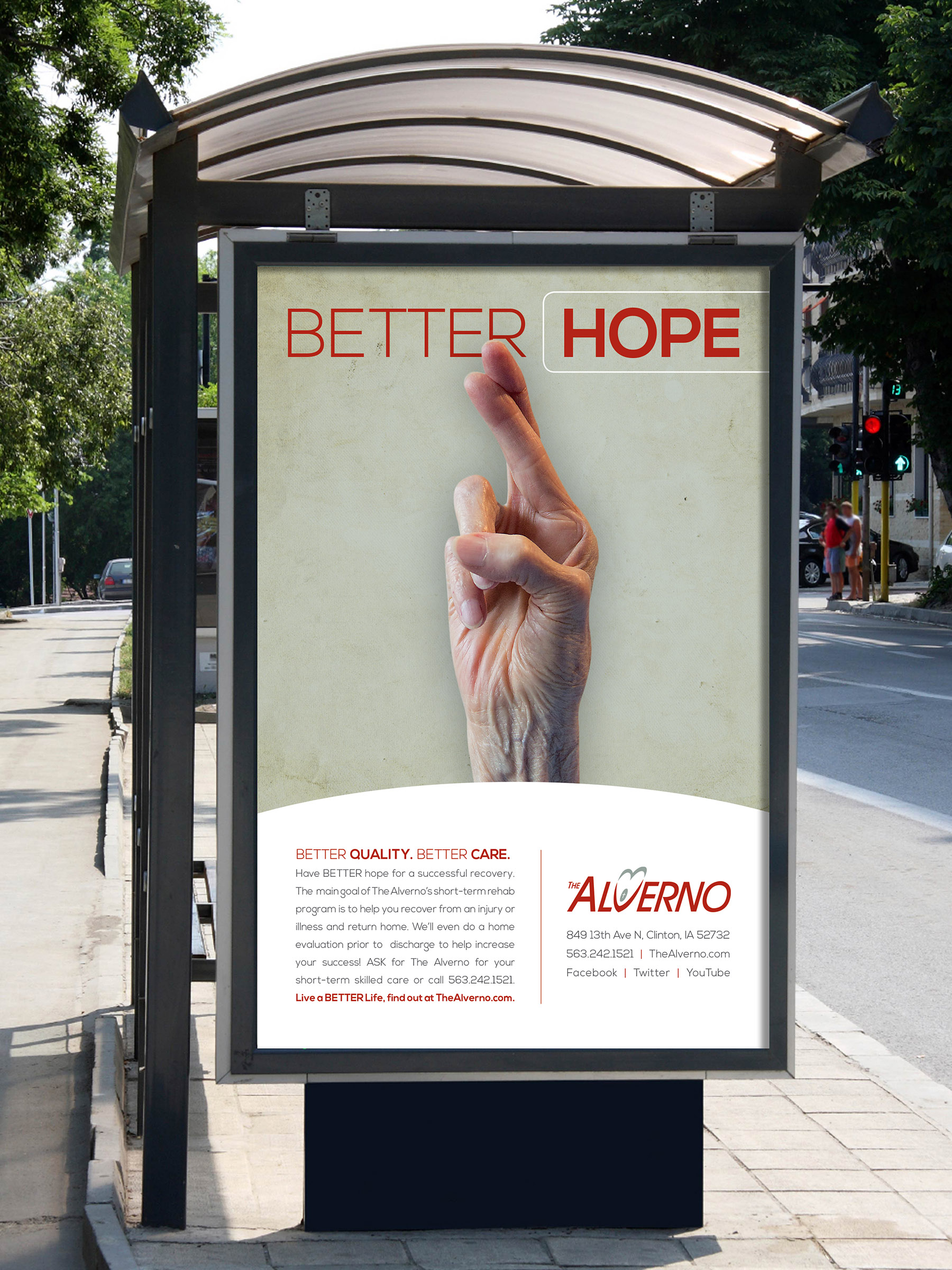 Alverno Better Outdoor Poster