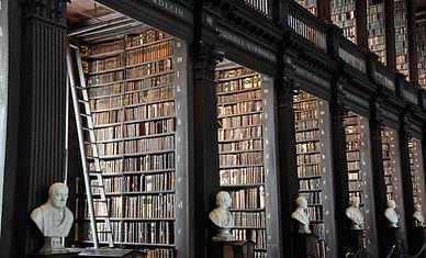 biblioteca tradizionale