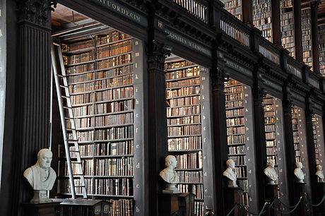 traditionelle Bibliothek