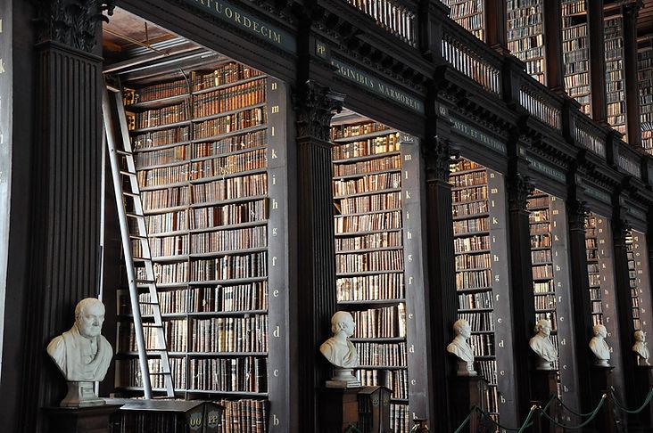 traditionelle Bibliothek
