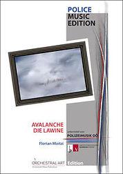 """Partitur """"Avalanche"""" von Florian Moitzi"""
