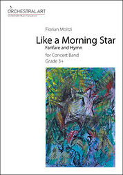 "Partitur ""Like a morning Star"" von Florian Motzi"
