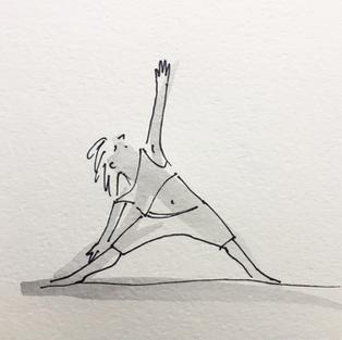 Triangle Pose (Trikoasana)