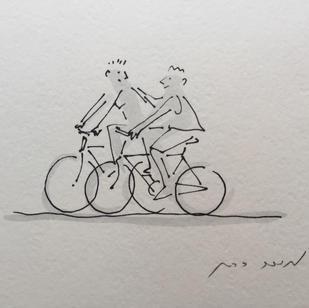 שני זוגות אופניים