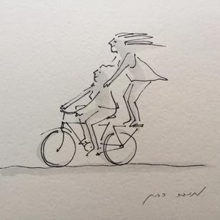 שתיים על אופניים