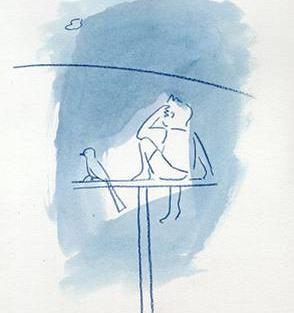 ילד, ציפור ואופק