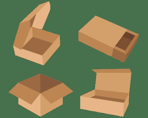 Baskılı Baskısız Kutu-Koli-Ambalaj Çeşitleri