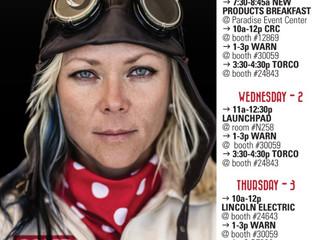 SEMA Schedule 2016