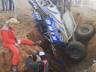 Baja 1000... crash and all