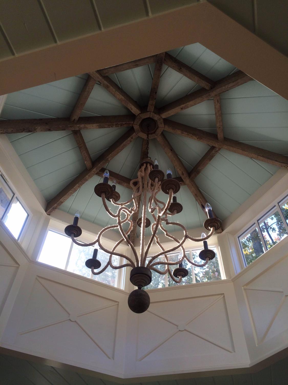 Reclaimed Joist Cupola