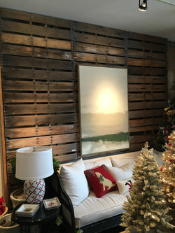 Reclaimed Oak Wall - Digs