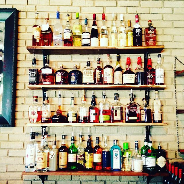 Reclaimed Bar Shelves - La Chasse