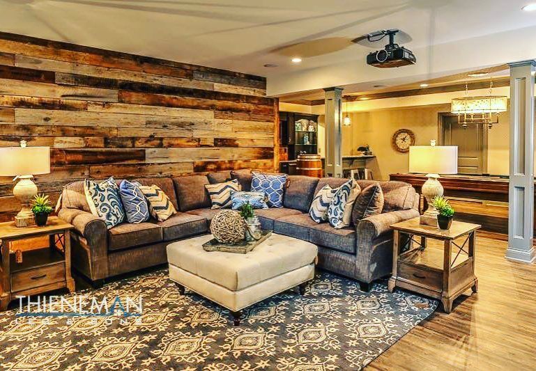 Reclaimed Accent Wall - Homearama