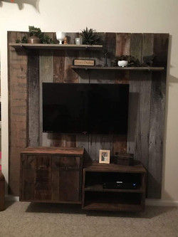 Reclaimed Entertainment Center