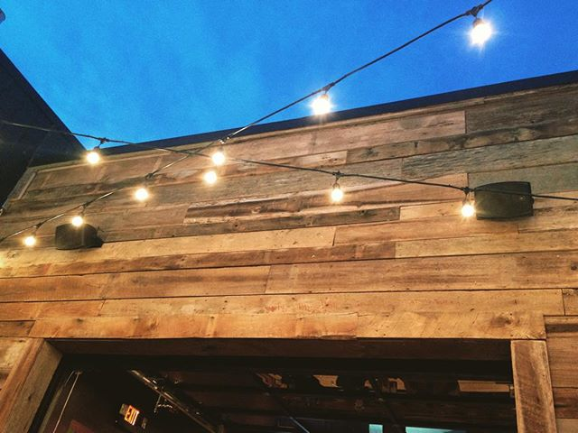 Barn Wood Wall - Mellow Mushroom
