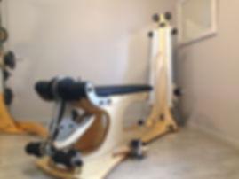 leg extension unit