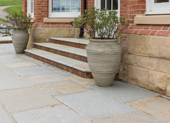 Farley Limestone Seasoned Finish