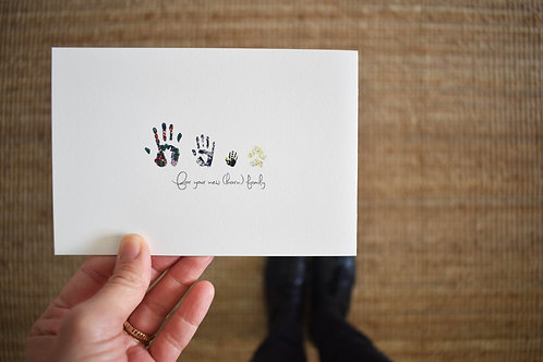 For Your New (born) Family (12 cards set)