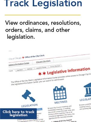Track Legislation