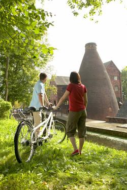 cycling in ironbridge