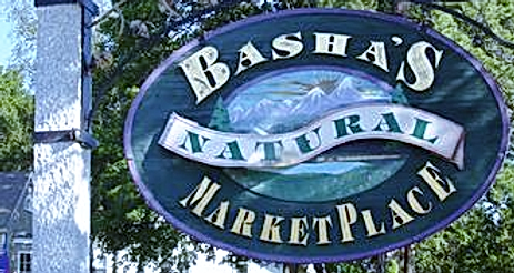 Basha's Natural Marketplace logo