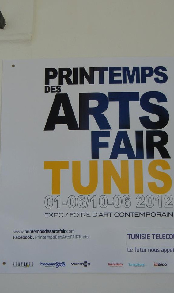 Spring Art Fair, Tunis, 2012
