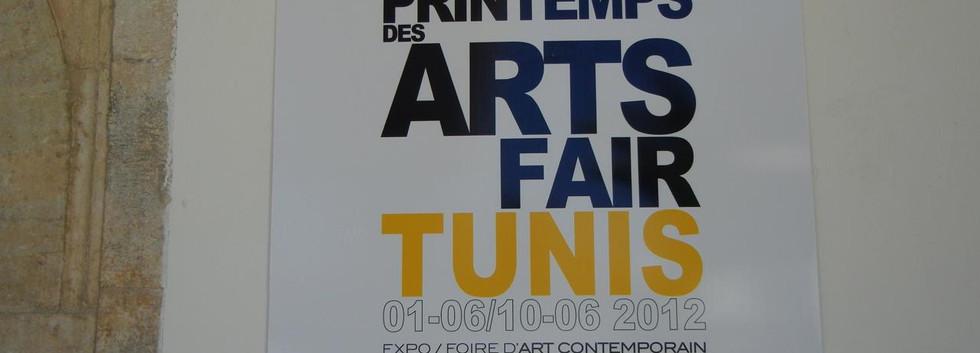 Spring Art Fair, Tunis, 2012