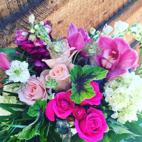 Floral Arrangement in Crested Butte