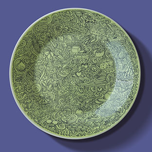 Spoleto Plate