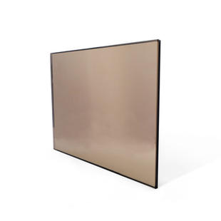 Bronze Toned Glass
