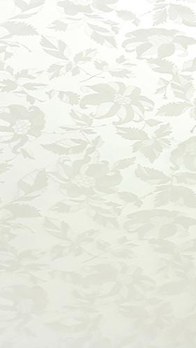 H71 Çiçekli Beyaz